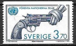 Suède 1995 N°1881 Neuf 50 Ans De L'ONU - Suède