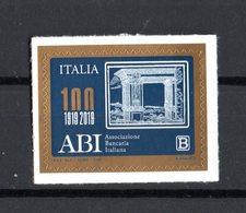 ITALIA  :  100 Anni Dell' ABI - Tariffa B  ( 1,10 €.)  1 Val. MNH**  14.05.2019 - 1946-.. République