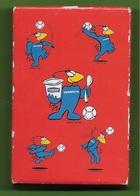 JEU De Cartes Publicitaire DANONE Coupe Du Monde De FOOT France 98 - Footix Pub Publicité Football  - à Jouer - Cartes à Jouer Classiques