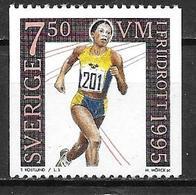 Suède 1995 N°1876 Neuf Athlétisme - Unused Stamps