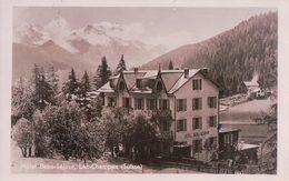 Champex VS, Hôtel Beau Séjour (17.7.36) - VS Valais