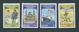 Kenya 1981 Charles Royal Wedding Set 4 MNH - Kenya (1963-...)