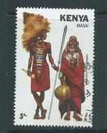Kenya 1981 3/- Masai Costume FU - Kenya (1963-...)