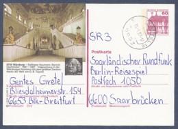 Germany-BRD - Bildpostkarte Von 1987 - P 138 R 5/68 - Gebraucht - Würzburg, Treppenhaus In Der Residenz (P138r) - BRD