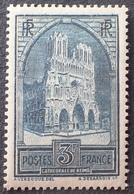 R1615/617 - 1929 - CATHEDRALE DE REIMS - N°259c (IV) NEUF** - TRES BON CENTRAGE - Cote : 160,00 € - Unused Stamps