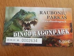 Lithuania Dinodragonpark Ticket 2019 Dinosaur - Tickets - Vouchers