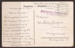 AUSTRIA / BOSNIA. 1914. FELDPOST POSTCARD. POSTMARK NEVESINJE. FROM HUNGARIAN REGIMENT. - Bosnia And Herzegovina