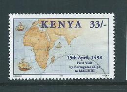 Kenya 1998 33/- Vasco Da Gama FU - Kenya (1963-...)