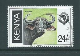 Kenya 1998 24/- Buffalo FU - Kenya (1963-...)