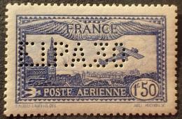 "R1615/624 - 1930 - POSTE AERIENNE - AVION SURVOLANT MARSEILLE - N°6c Perforé "" ELPA30 "" NEUF* - Cote : 580,00 € - 1927-1959 Nuevos"