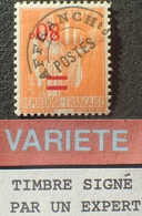 R1615/626 - 1940 - TYPE PAIX - PREO - N°74a NEUF (*) - VARIETE ➤➤➤ Surcharge Renversée ☛☛☛ Signé THIAUDE Expert - Varieties: 1931-40 Used