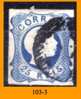 Portogallo-103 - 1856/58 - Y&T: N. 11 (o) Privi Di Difetti Occulti - A Scelta. - Usati