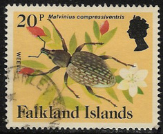 Falkland Islands SG479A 1984 Definitive 20p Good/fine Used [40/32631/4D] - Falkland Islands