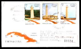 660  Phares - Lighthouses - 1980 - FDC - Cb - 4,25 - Vuurtorens