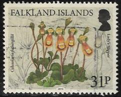 Falkland Islands 2016 Endemic Plants 31p Type 1 Good/fine Used [40/32633/4D] - Falkland Islands