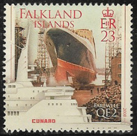 Falkland Islands SG1116 2008 Farewell Voyage Of QE2 23p Good/fine Used [40/32636/4D] - Falkland Islands