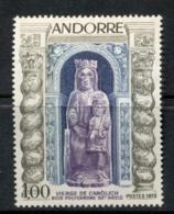 Andorra (Fr) 1973 Virgin Of Canolich MLH - Andorra Francesa