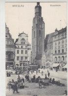Breslau - Elisabethkirche / Oben Beschnitten - Schlesien