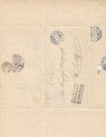 Wendebrief Aus POSEN Und LISSA Frei Lt. Avers. No. 21 Kgl.Eisenbahn-Direktion .. - Lettres & Documents