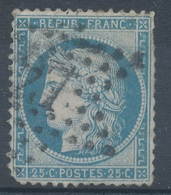 N°60B TYPE II  VARIETE MARQUER AU VERSO. - 1871-1875 Ceres
