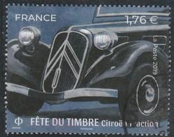 FRANCE 2019 ISSU DU BLOC FETE DU TIMBRE CITROEN TRACTION OBLITERE - Oblitérés