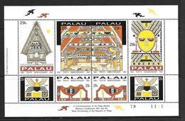 PALAU 1991 PROCLAMATION DE LA REPUBLIQUE  YVERT N°432/39 NEUF MNH** - Palau