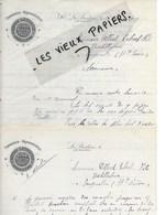 16 - Charente - LA BRULERIE Près ANGOULEME - Facture LETERTRE - Vins Et Eaux-de-vie - 1919 - REF 122A - France