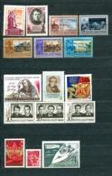 USSR, 1969, 15 Stamps **  + 1 Stamp (*): MiNr 3597, 3601, 3609, 3611, 3612, 3613, 3616, 3634, 3679, 3680, 3682-84, More - 1923-1991 URSS