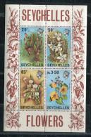 Seychelles**  Bloc N° 1 -  Fleurs - Orchidées - Seychelles (1976-...)