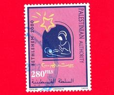 PALESTINA -  1999 - Natale - Christmas - Noel - Navidad  - Betlemme 2000 - 280 - Palestina