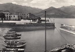 AK - Italien - Lago Di Como - COLICO - Hafen Mit HOTEL RISI 1950 - Como