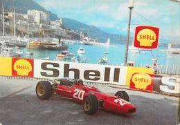 Chris Amon Sur Ferrari F1 1967 à Monaco - Publicité Shell - Carte LEA Non Circulée - Grand Prix / F1
