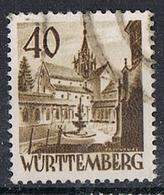 VURTEMBERG N°35 - Franse Zone
