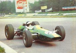 Jim Clark Sur Lotus-Ford F1 1967 8 Cylindres - Carte LEA Non Circulée - Grand Prix / F1