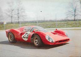 Lorenzo Bandini Sur Ferrari 1967 Prototype 330 P4 12 Cylindres En V - Carte LEA Non Circulée - Le Mans