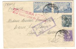 20864 - Par Avion Pour La France - 1931-50 Briefe U. Dokumente