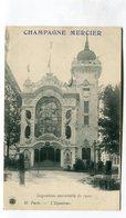 CPA 75 : Paris Exposition 1900 Pub Mercier   Pavillon De L'Equateur   A  VOIR  !!!!!!! - Expositions