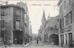 REGNY - Grande Rue - France