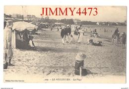 CPA - La Plage Bien Animée En 1911 - LE POULIGUEN 44 Loire.- Inf. - N° 229 - Edit. Des Nouvelles Galeries - Le Pouliguen