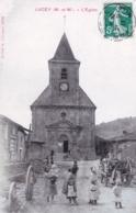 54 - Meurthe Et Moselle - LUCEY - L Eglise ( Animée ) - Altri Comuni