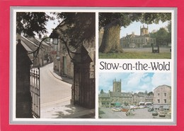 Modern Multi View Post Card Of Stow-on-the-Wold,Gloucestershire,U31. - Inghilterra