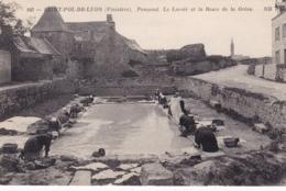 29 - Finistere - SAINT POL De LEON - Pempoul - Le Lavoir Et La Route De La Greve - Lavandieres - Frankreich
