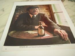 ANCIENNE PUBLICITE BIERE GEORGE KILLIAN BIERE PELFORTH ROUSSE 1976 - Alcools