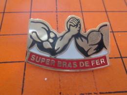 412C PIN'S PINS / Rare Et De Belle Qualité ! / Thème : SPORTS / SUPER BRAS DE FER - Pin's