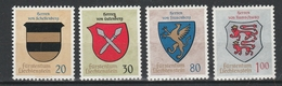 LIECHTENSTEIN  Xx  1965    MI 450-53   -  Postfrisch   -  Vedi  Foto ! - Liechtenstein