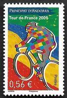 ANDORRE   2009 -  YT 677  - Tour De France - NEUF** - Andorre Français