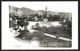 AK Guayaquil, Teilansicht Mit Denkmal - Ecuador