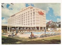 LUSAKA,  HOTEL INTER-CONTINENTAL, Pool, Piscine, AFRICA,ZAMBIA, Old Photo Postcard - Zambia