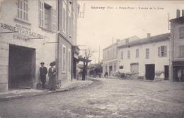(49)  SANARY - Rond Point - Avenue De La Gare - Sanary-sur-Mer