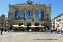 Montpellier (34)- Théâtre De La Comédie (Edition à Tirage Limité) - Montpellier